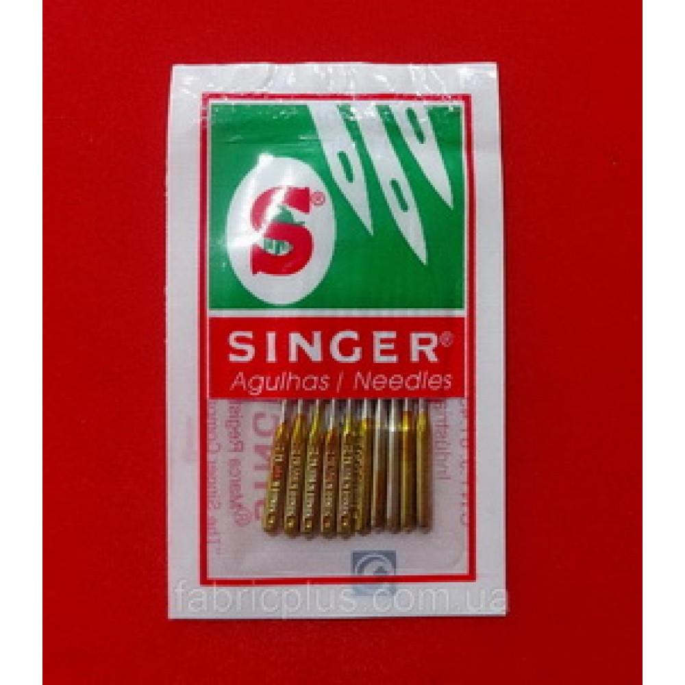 Иглы SINGER №100 для бытовых швейных машин (набор 10 игл)