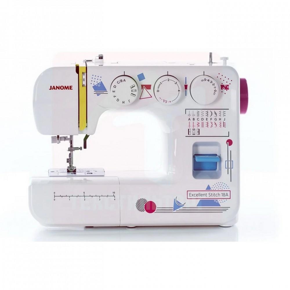 Швейная машина JANOME Excellent Stitch 18A